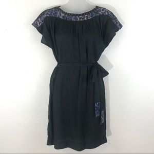 Moon Collection Los Angeles Dress Black Small Belt